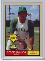 Reggie Jackson '67 Oakland Athletics Rookie Stars series #20 by Monarch Corona