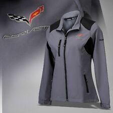 2014-2019 Corvette C7 Women's Reebok Soft Shell Jacket with Logo & Script 686719