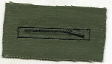 Original Vietnam Era US Army EIB Expert Infantry Badge on OD Uniform Cloth