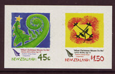 NEW ZEALAND 2006 CHRISTMAS SELF ADHESIVE COIL PAIR UNMOUNTED MINT