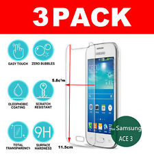Screen Protector For Samsung Galaxy Ace 3 - Tempered Glass 100% Genuine