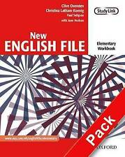 New English File: Elementary: Workbook with key and MultiROM Pack: Six-level gen
