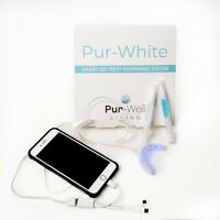 Pur-Well Living Pur White Smart Phone Teeth Whitening System, Whitening Pen