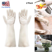 Washing Gloves Kitchen Long Waterproof Dish Protect Cleaning Tool Laundry