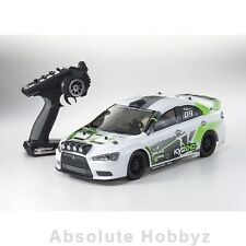 Kyosho EP Fazer VE Lancer ReadySet 1/10 Electric Touring Car w/Syncro 2.4GHz Rad