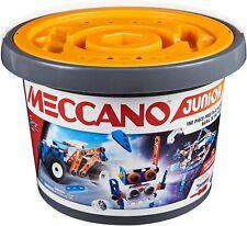 Meccano Junior 150 Piece Free Play Bucket - New