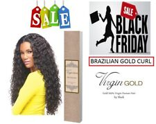 Brazilian Gold Curl Weave - 100% VIRGIN HUMAN HAIR by Sleek for any Party Events