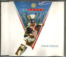 Marillion FISH Big Wedge w/ RARE LIVE TRK & SINGLE VERSION TRK CD single SEALED