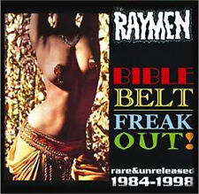RAYMEN Bible Belt Freak Out CD - Rare and Unreleased - Psychobilly Garage - NEW
