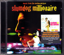 SLUMDOG MILLIONAIRE A.R. Rahman OST CD Jai Ho Soundtrack Danny Boyle Alka Yagnik