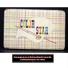 S128 - Color Star Completa Colori + Pennello - Scatola Metallo Latta Vintage