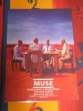 MUSE - BLACK HOLES & REVELATIONS -  LAMINATED PROMO POSTER