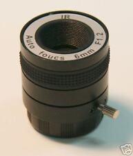6.0MM CCTV Camera IR Lens CS MOUNT, Auto Focus,NO LED!