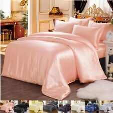 19mm 100% Silk Seamless Twin Size Duvet Quilt Cover Sheets Pillow Case & Set