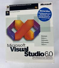 Microsoft Visual Studio Professional 6.0 Professional Edition