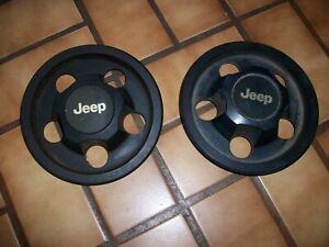 1984-1993 Jeep Cherokee, Wrangler #85501 2 CENTER CAPS 85 86 87 88 89 90 91 92