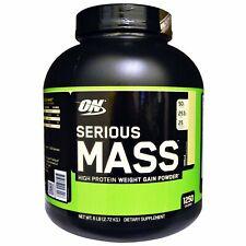 Serious Mass, High Protein Weight Gain Powder, Vanilla, 6 lbs (2.72 kg)