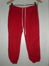 Teamwork Athletic Apparel Women's Softball Pants size M 28X30 Red