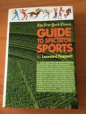 "1971 The New York Times Guide To Spectator Sports"" 259-Page Hard Cover Book NEW"