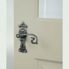 ANVIL 83501 SILVER FLEUR DE LYS TUDOR LEVER LATCH DOOR HANDLE COTTAGE PERIOD