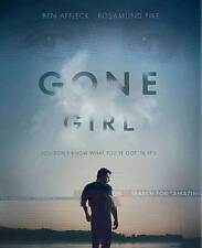 Gone Girl (Blu-ray Disc, 2015, Includes Digital Copy, Amy Book )NEW FREE SHIP!