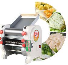 US 220V Electric Pasta Press Maker Noodle Machine Dumpling Skin Home Commercial