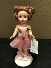 "Madame Alexander doll 8"" Sparkling Flower Ballerina Balle Coll Pink 50150 EUC"
