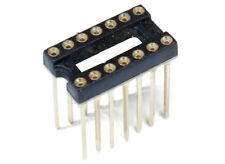 DIP-14 DIL-14 IC Precision Socket Turned Präzisions-Sockel Gedreht High Form PCB