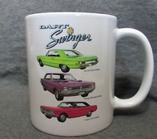 1970 Dodge Dart Swinger 2-Doors Coffee Cup, Mug ~ New ~ Classic 1970's ~ Sharp!