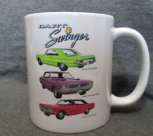 1970 Dodge Dart Swinger 2-Doors Coffee Cup, Mug ~ New ~ Classic 1970's ~ Sharp!