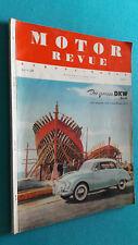 Motor Revue, Europa-Motor, Heft 20, Winterausgabe 1956
