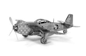 Metallic Nano Puzzle P-51 Mustang aircraft TMN-03 Model Kit by Ten