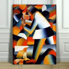 KAZMIR MELEVICH - Woodcutter - CANVAS ART PRINT POSTER - Abstract - 16x12""