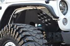 Ace Engineering Alum Front Inner Fenders - Black 07-16 Jeep Wrangler JK 2 4 Door