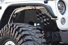 Ace Engineering Alum Front Inner Fenders - Black 07-16 Jeep Wrangler JK 2 4 Door