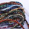 Wholesale 8MM Natural Gem Stones Spacer Loose Beads For Bracelet Necklace DIY