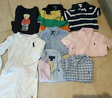 Bundle Of Baby Boys Ralph Lauren Age 18-24 Months and 2T Polo,shirt,T shirt