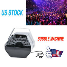 16 Wand Bubble Machine Automatic Blower Automatic Maker Kids Party DJ DISCO PUB~