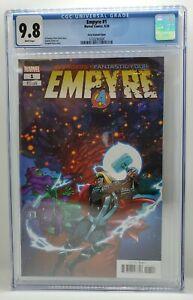 Empyre #1 Ferry Secret Variant One Per Store CGC 9.8 Graded Marvel Comics 2020