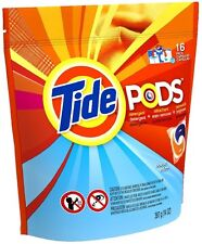 Tide Pods Laundry Detergent, Ocean Mist 16 ea (Pack of 5)