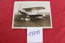 N°13795 /  photo argentique  biplan HAWKER FURY 28/4/33