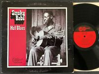 Smoky Babe HOT BLUES 1971 Arhoolie Records-2019 RARE vinyl LP stereo