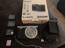 Panasonic Lumix DMC-ZS50S 12.1 MP Digital Camera - Silver w/ accessories