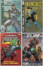 INVINCIBLE PREVIEW KEYS LOT: TECH JACKET #1 SAVAGE DRAGON #102 GIJOE #12 & FIRST