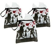 Pack of 6 - Zombie Tote Bags - Halloween Party Loot Trick or Treat Bags