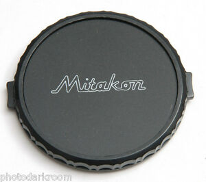 55mm Plastic Lens Cap - Mitakon - Snap-on - Japan - NEW Bulk Stock C516