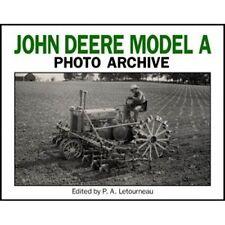 John Deere Paper Agricultural Vehicle Manuals & Literature
