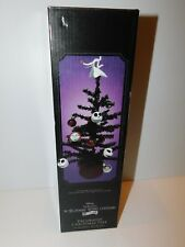 Nightmare Before Christmas Black Christmas Tree with Ornaments New in Box 25th
