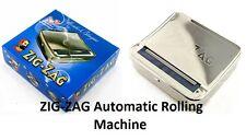 ZIG ZAG ROLLING MACHINE AUTOMATIC TOBACCO CIGARETTE ROLLER BOX / TIN