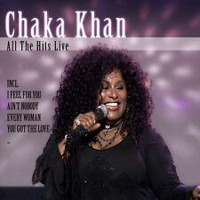 CD Chaka Khan All The Hits Live